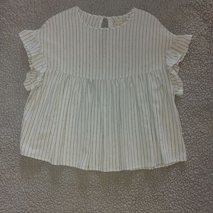 Altar'd State linen baby doll top